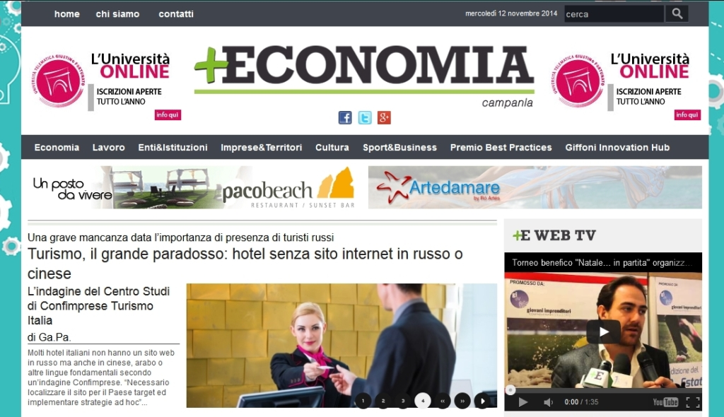 marketing per hotel e turismo dalla Russia