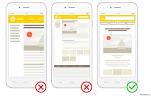 Controllo dei siti mobile friendy
