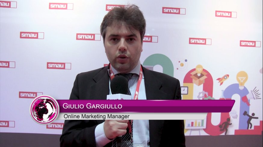 Giulio Gargiullo esperto di digital marketing internazionale a SMAU Milano, intervistato da BIT MAT TTG