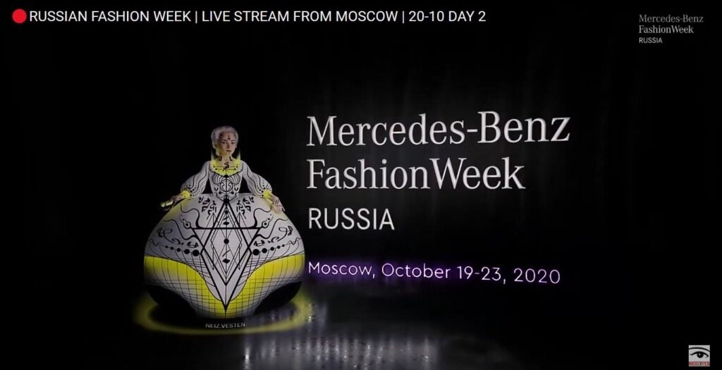 Mercedes-Benz Fashion Week Russia 2020: trasmesso online in streaming