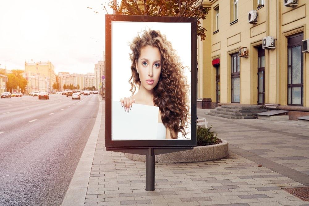 Pubblicità outdoor di Yandex
